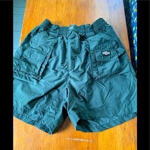 Guide gear Khaki green cargo shorts M